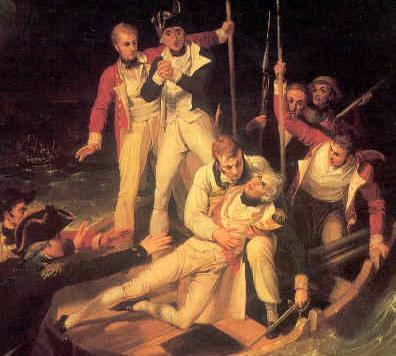 Archivo:Sir Horatio Nelson when wounded at Teneriffe.jpg