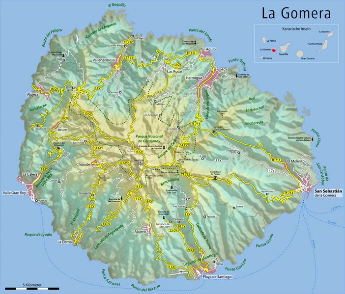 Archivo:Map of La Gomera.jpg